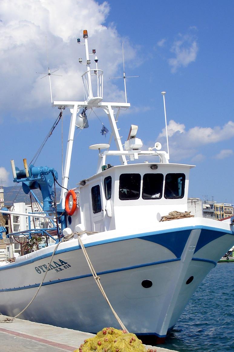 Sfyris Thyella Fishing Boat